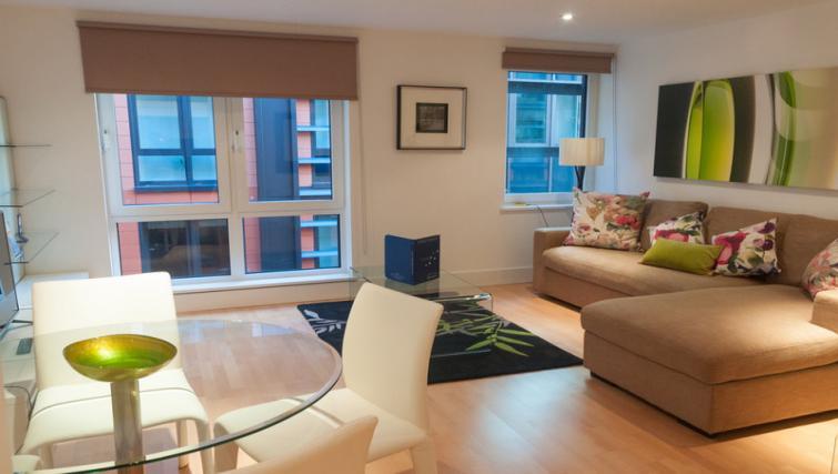 Living area at Clarendon Sir John Lyon House