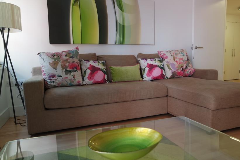 Sofa at Clarendon Sir John Lyon House