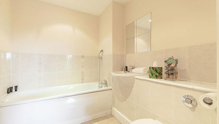 Bathroom in Central Walk Apartments