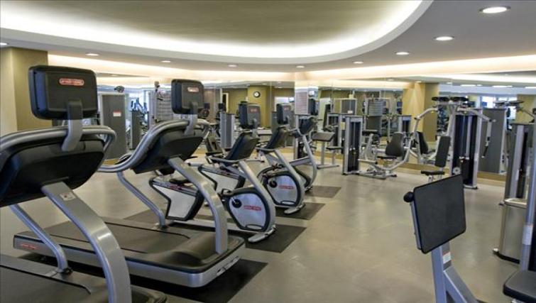 Gym at Wisconsin Place Apartments
