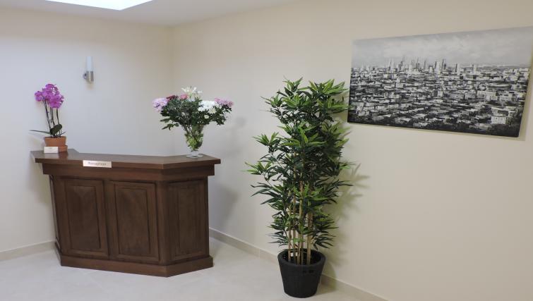 Reception at Five Lamps Suites