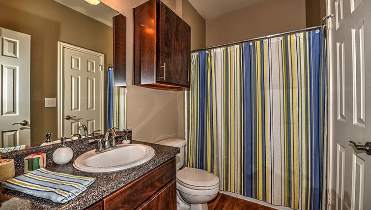 Bathroom at Walkers Ranch Apartments
