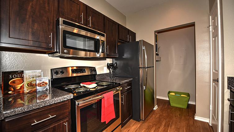 Kitchen at Walkers Ranch Apartments