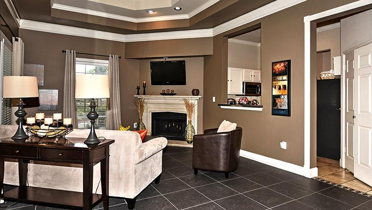 Living area at Walkers Ranch Apartments