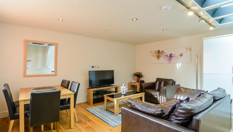 Living space at Flying Butler Holborn Apartments