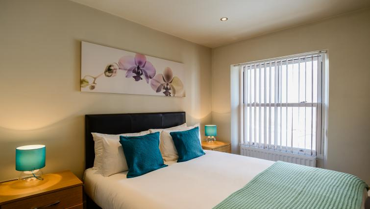 Gorgeous bedroom at Flying Butler Holborn Apartments