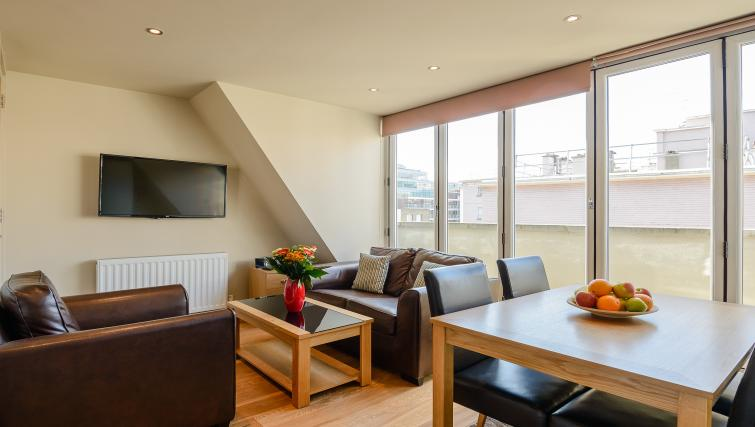 Bright living space at Flying Butler Holborn Apartments