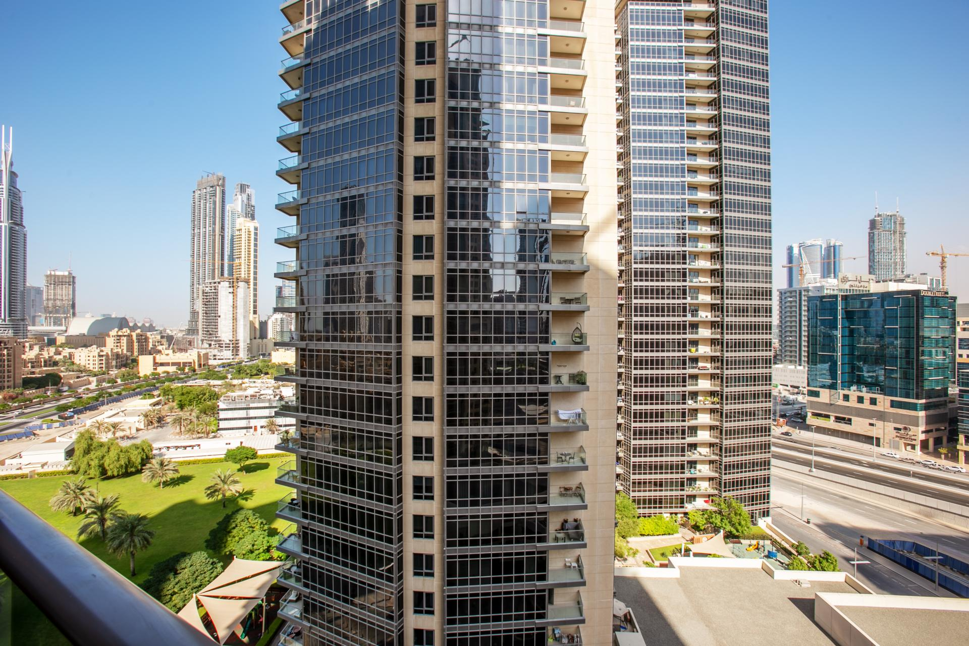 Exterior at South Ridge Apartment, Financial District, Dubai