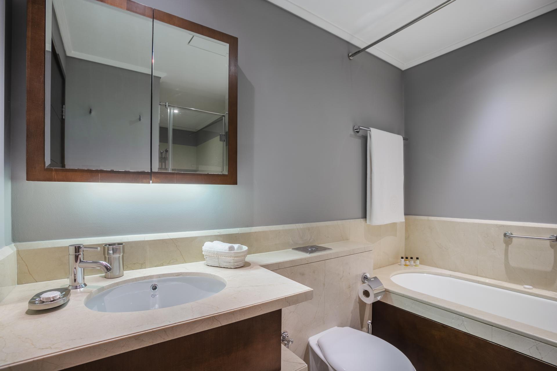 Bathroom at South Ridge Apartment, Financial District, Dubai