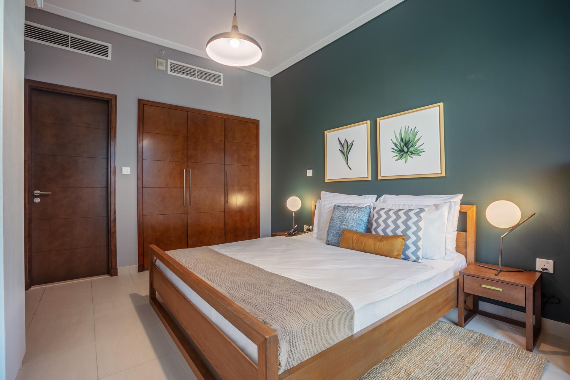 Bedroom at South Ridge Apartment, Financial District, Dubai
