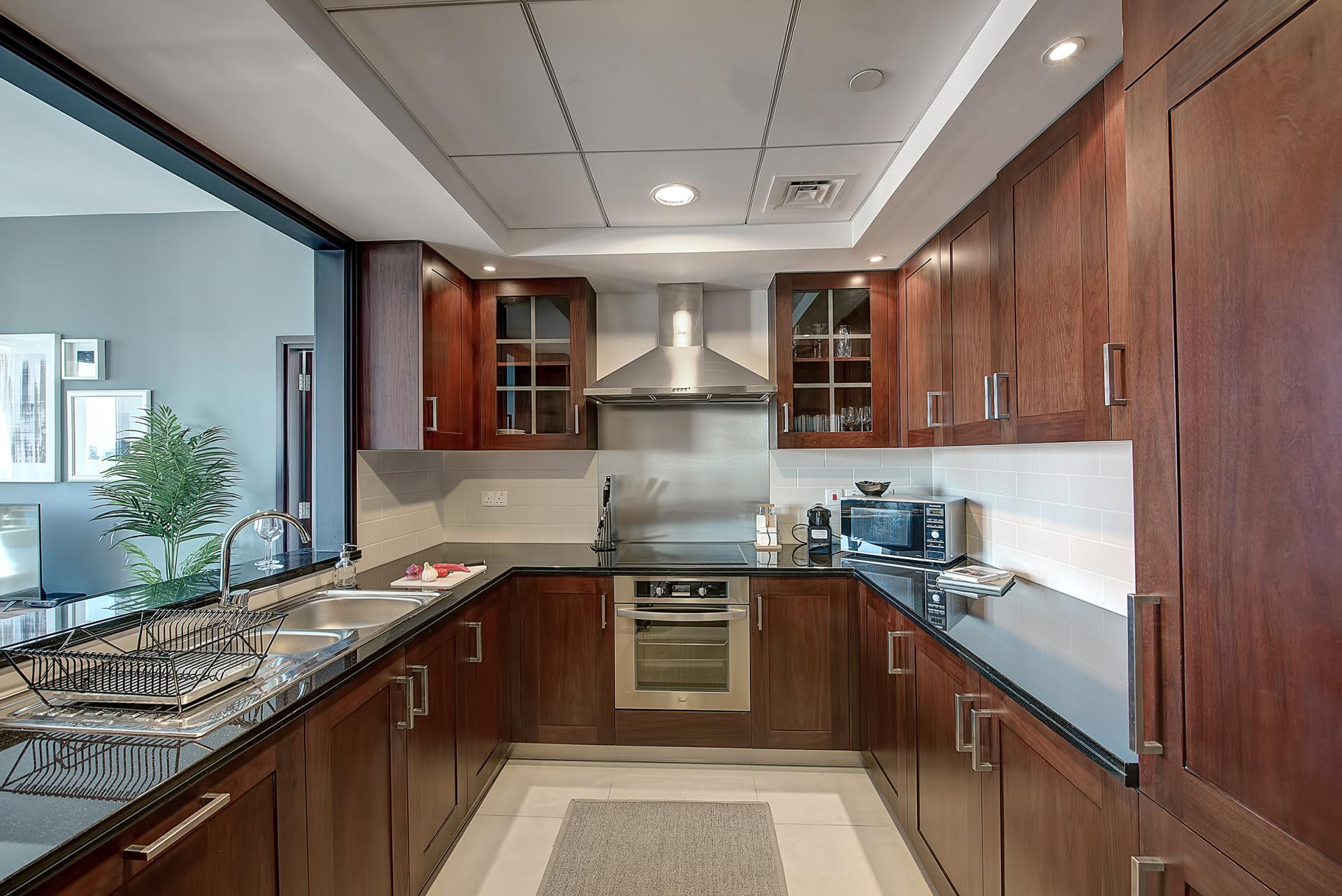 Kitchen at DIFC Index Tower Apartment
