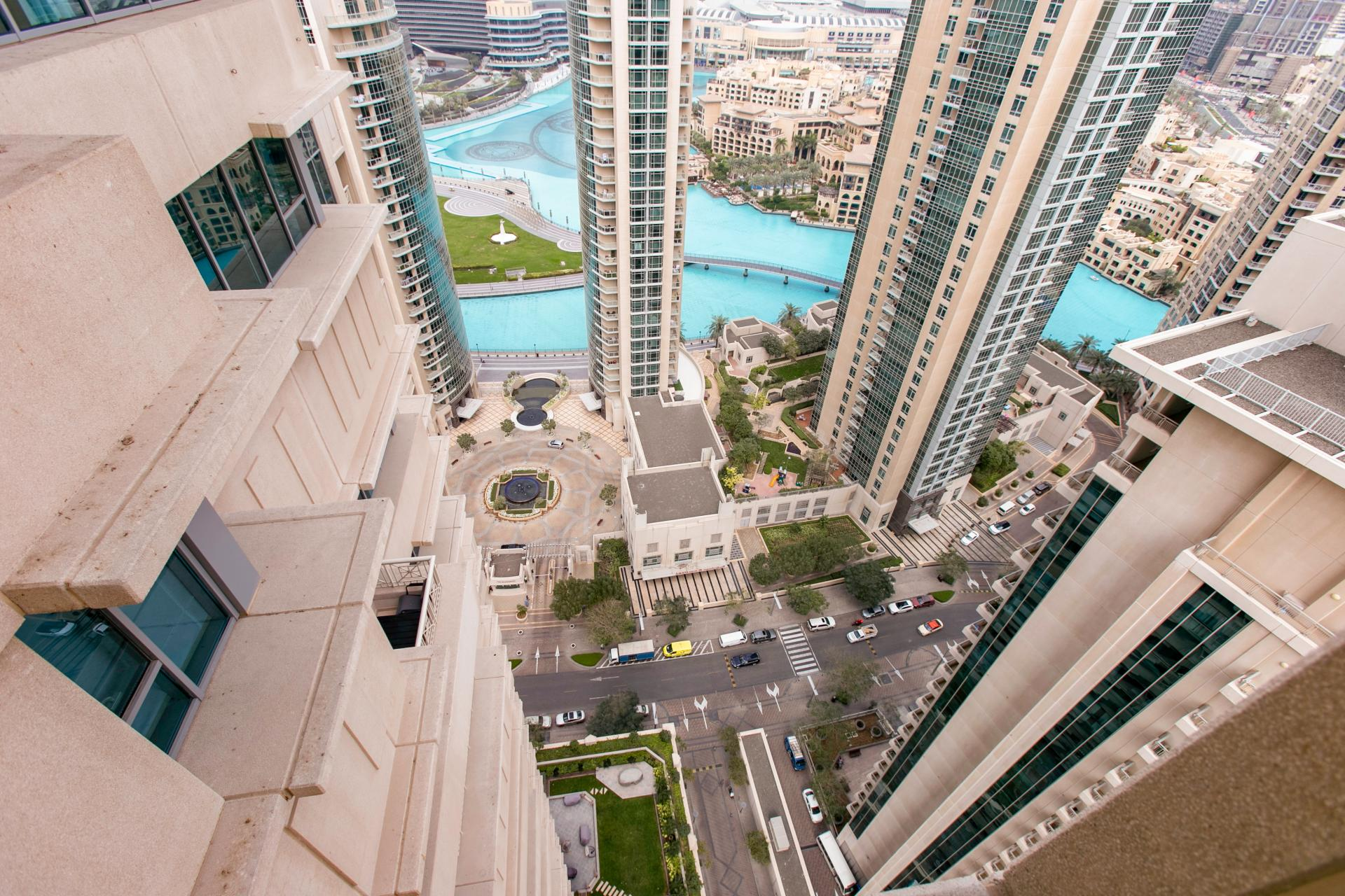 View from DIFC Index Tower Apartment