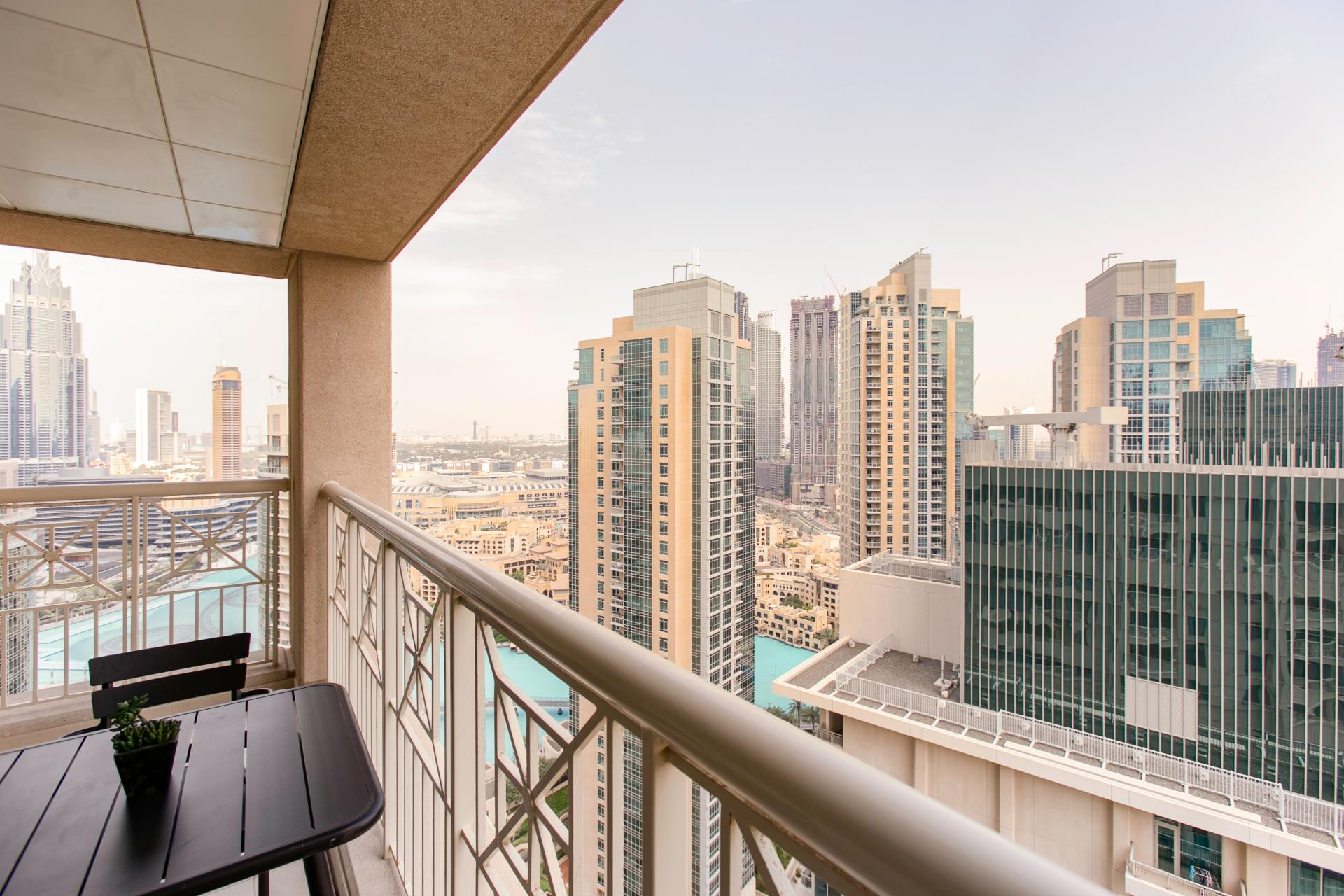 View at DIFC Index Tower Apartment
