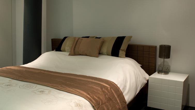 Bedroom at Drakes Wharf Apartments