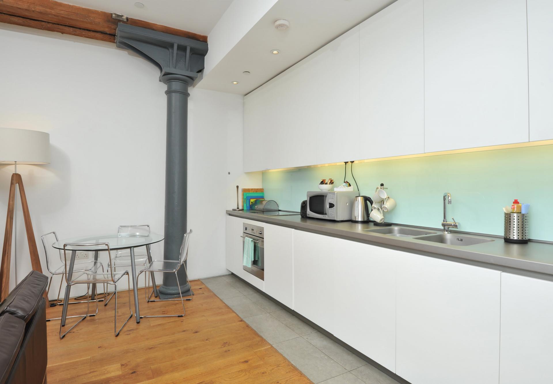 Appliances at Drakes Wharf Apartments