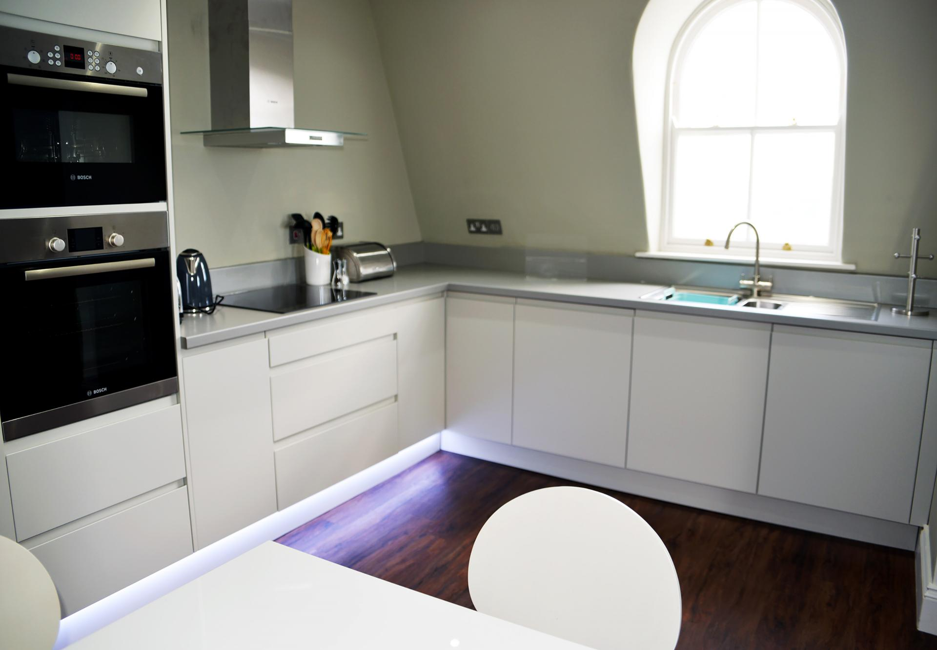 Kitchen diner at Elliot Terrace Apartments, Centre, Plymouth