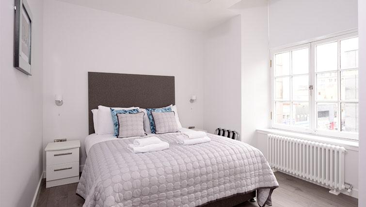 Bedroom at Glassford Residence