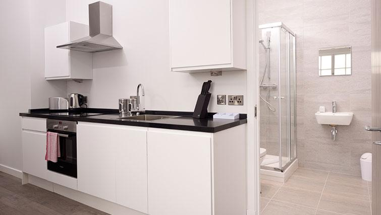Kitchen at Glassford Residence
