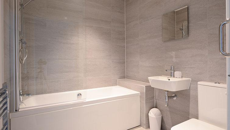 Bathroom at Glassford Residence