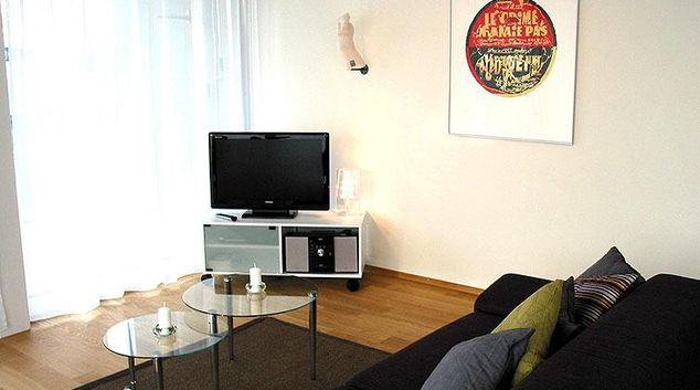 Living area at Hochwachtstrasse Apartment