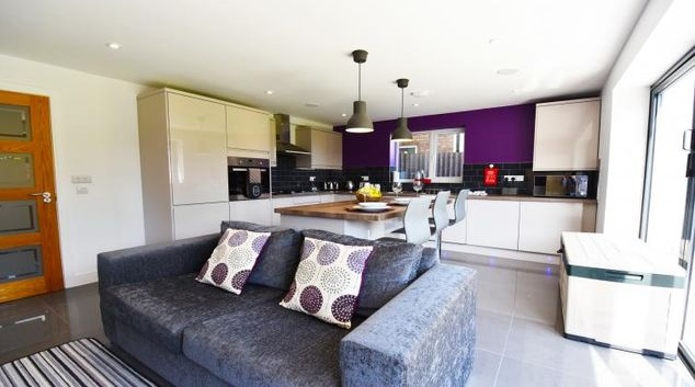 Comfortable living space at Gorse House