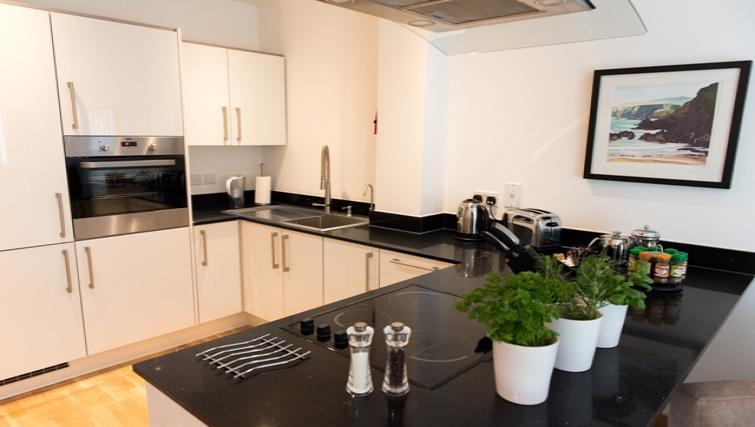 Kitchen at Flamsteed Close Apartments