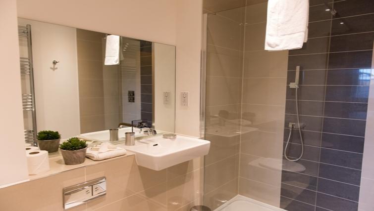 Bathroom at Flamsteed Close Apartments