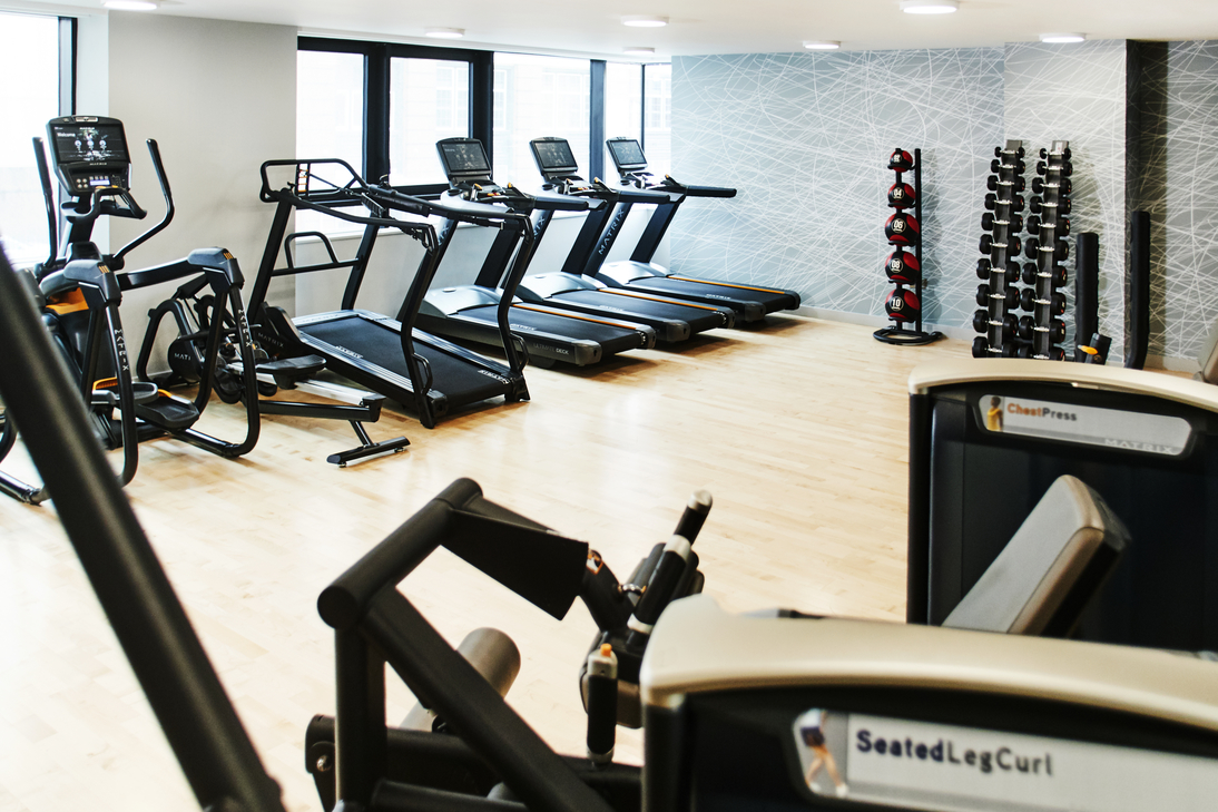 Gym at CitySuites Manchester