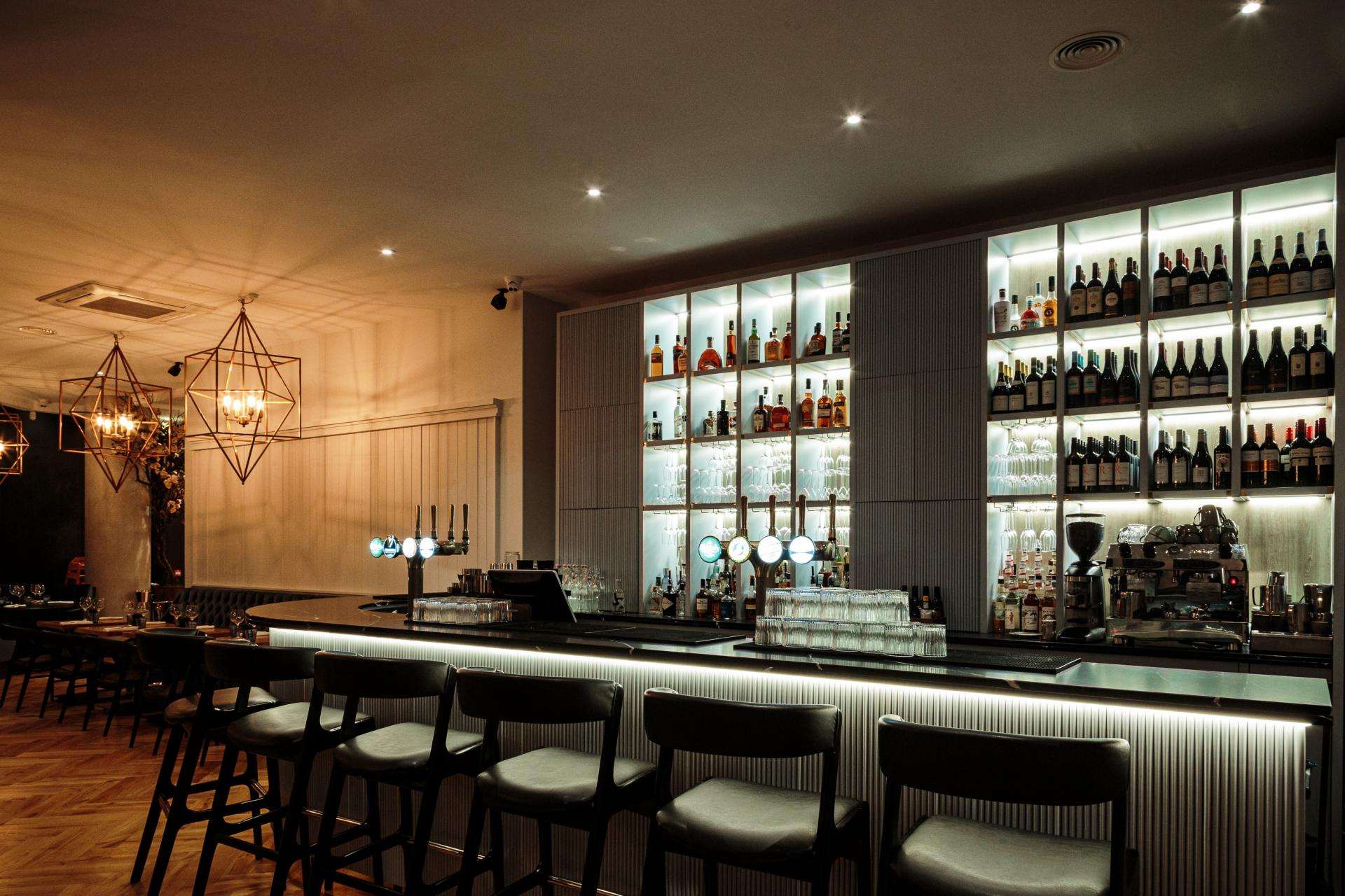 Bar at CitySuites Manchester