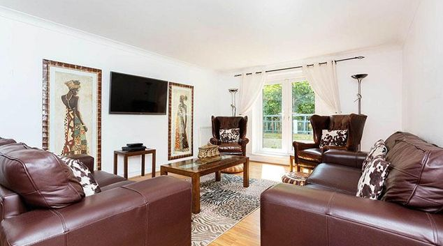 Living area at Emperor Dreams Apartment
