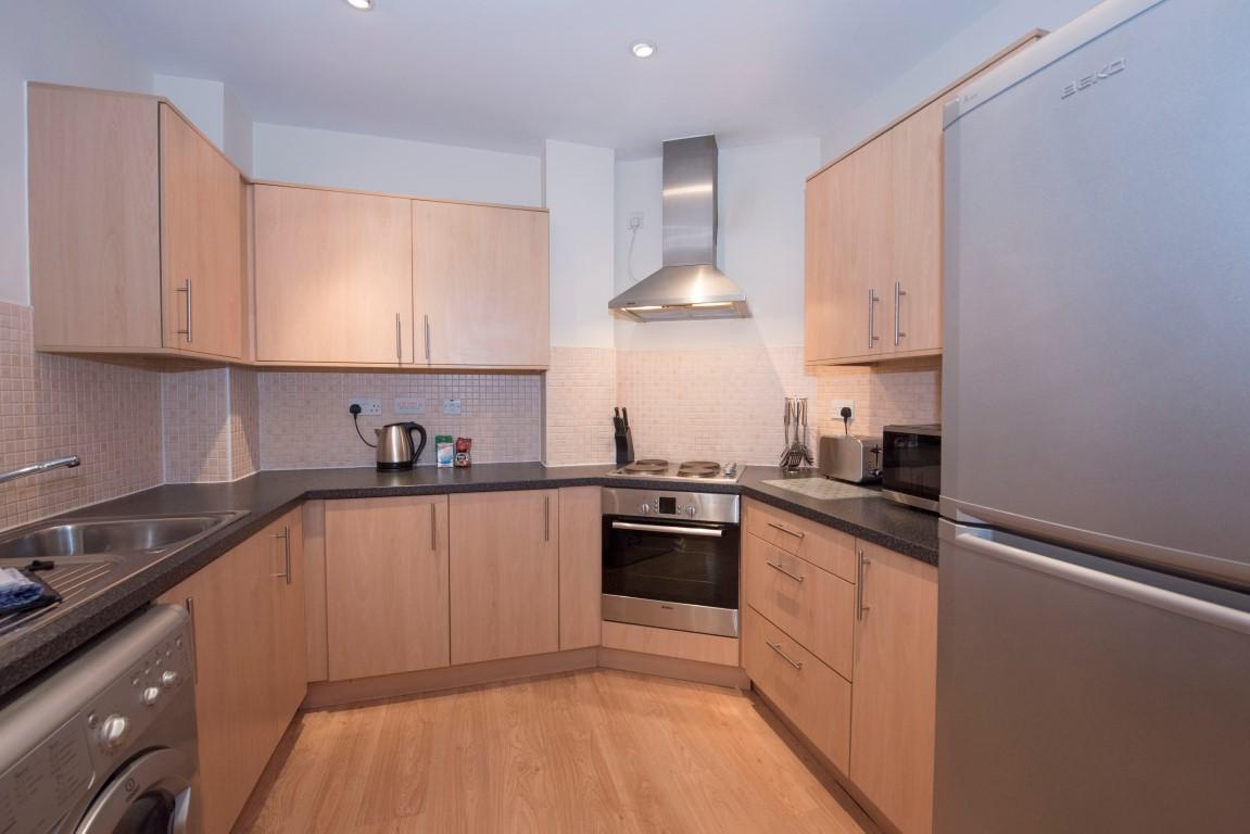 Kitchen at Robinson House Apartments, High Street, Crawley