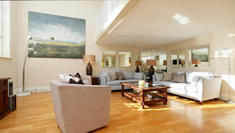 Living area at Mathison House Chelsea