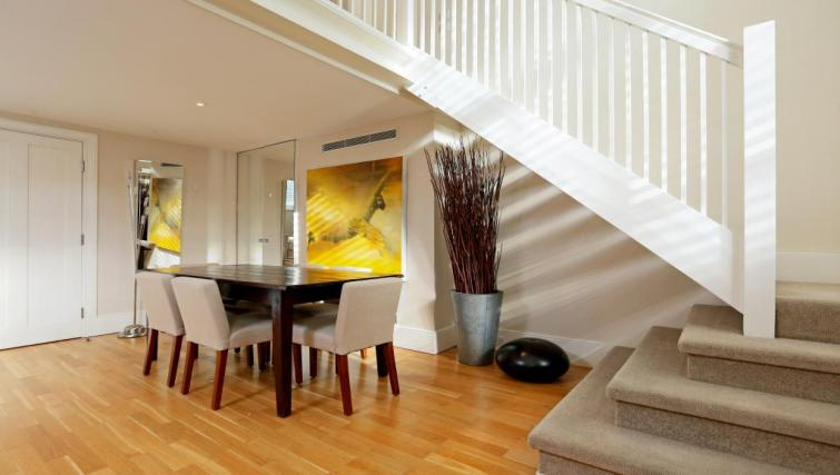 Dining area at Mathison House Chelsea