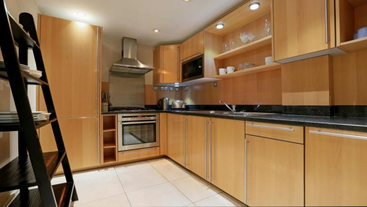 Kitchen at Mathison House Chelsea