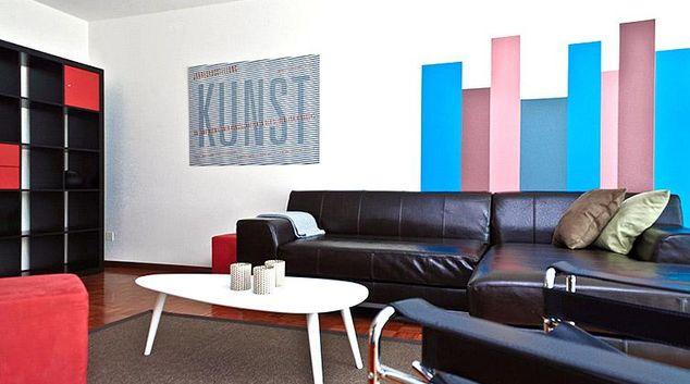 Living area at Hertizentrum 2 Apartment