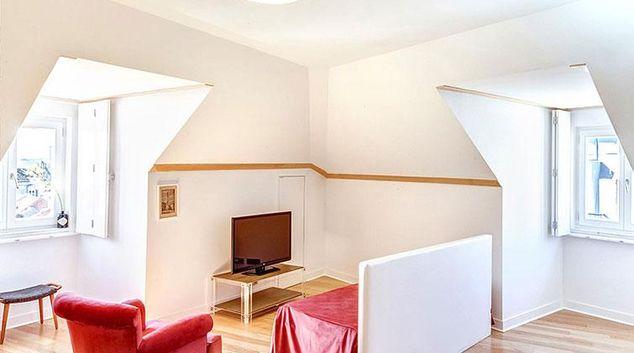 Living area at Palacio Camoes Apartment