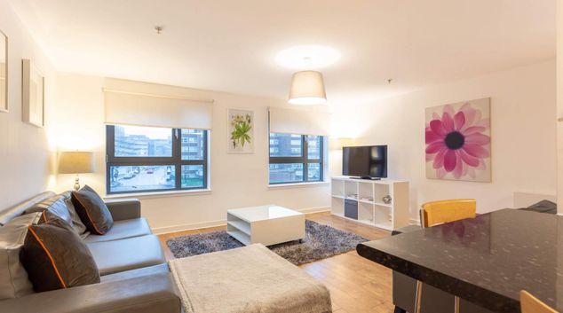 Living room at Kent Road Executive 7 Apartment