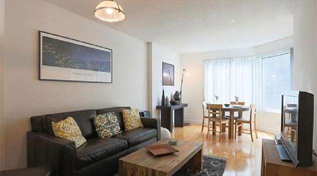 Living room at Parc Telegraph Apartments