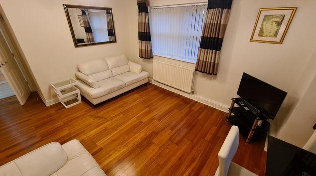 Living Room at Rosecroft Didsbury Apartment