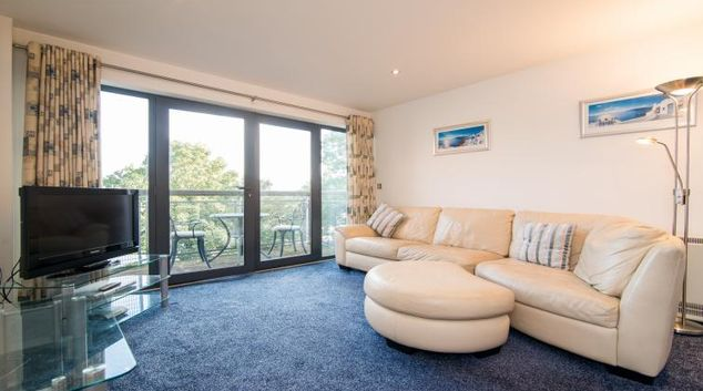 Spacious living area at Citipeak East Didsbury Apartment