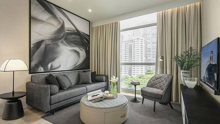 Delightful Orchard, Singapore. Ascott Orchard Apartments
