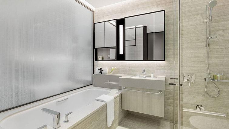 Bath at Ascott Orchard Apartments, Singapore