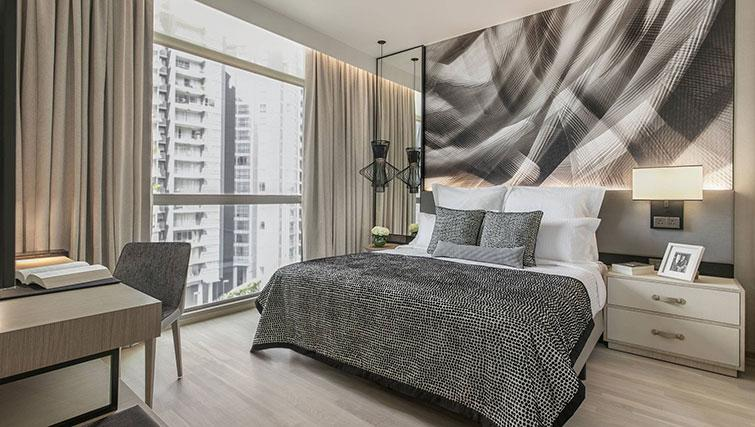 Bedroom at Ascott Orchard Apartments, Singapore