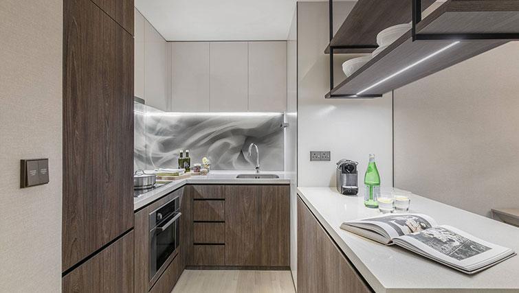 Kitchen at Ascott Orchard Apartments, Singapore