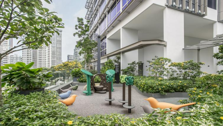 Play area at Ascott Orchard Apartments, Singapore