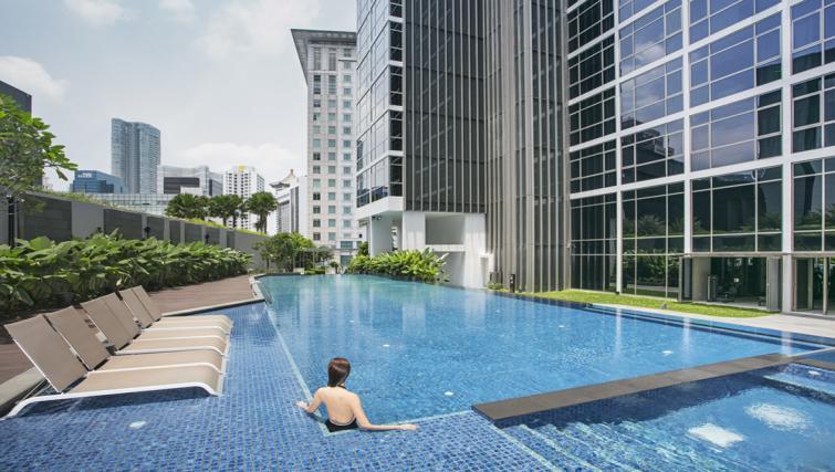 Pool at Ascott Orchard Apartments, Singapore