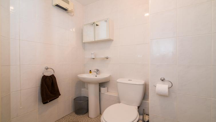 Toilet at Laurieston Cheadle Apartment