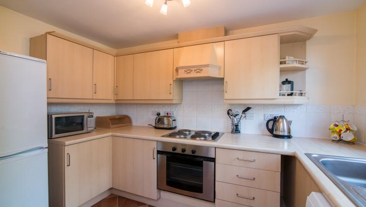 Modern kitchen at Laurieston Cheadle Apartment