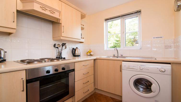 Washer dryer at Laurieston Cheadle Apartment