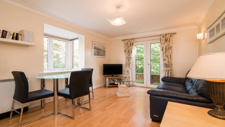 Spacious living area at Laurieston Cheadle Apartment